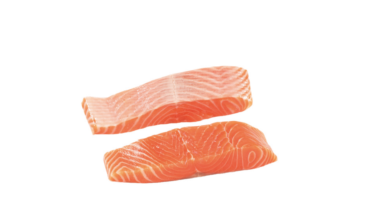 Salmon E-cut pieces
