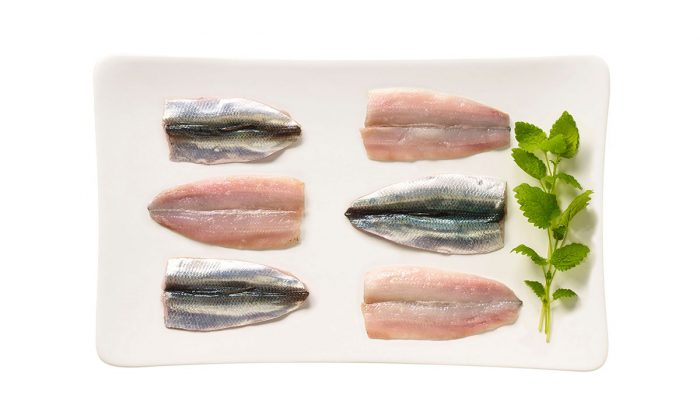Baltic herring fillet